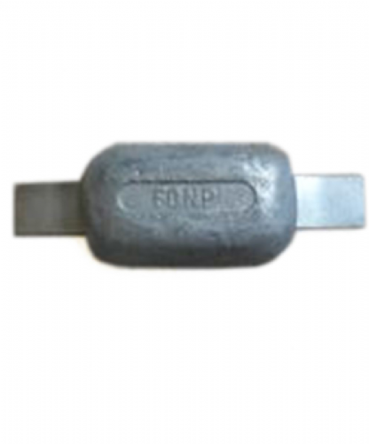 Zinc Strap Hull Anode 0.5kg